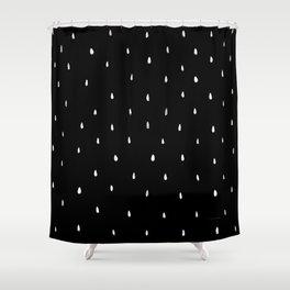 White Rain Shower Curtain