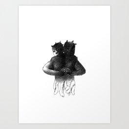 Siamese[lect] Art Print