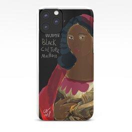 Black Culture Matters African Art iPhone Case
