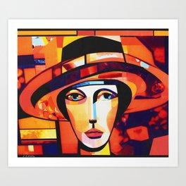 PRIMAVERA STUDY 74 Art Print