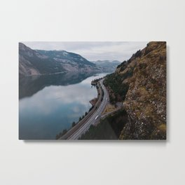 Columbia River Gorge III Metal Print
