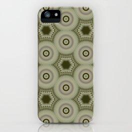 Fractal Cogs n Wheels in CMR02 iPhone Case