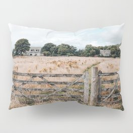 Wheat field in Scotland Pillow Sham