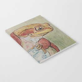 Jeremy Fisher by Beatrix Potter Notebook