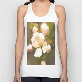 Apple Blossoms #decor #society6 Unisex Tank Top
