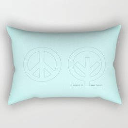 Peace in our Land Rectangular Pillow