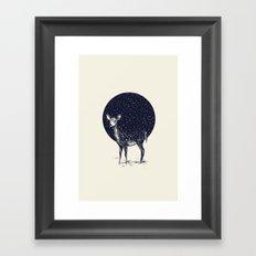 Snow Flake Framed Art Print