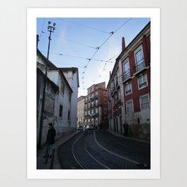 Lisboa 1: Alfama Art Print