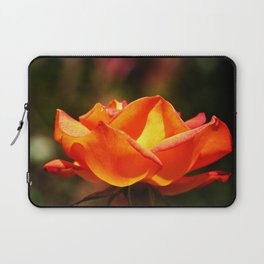 Red Rose Glowing Laptop Sleeve