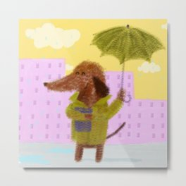 Rainy Day Metal Print