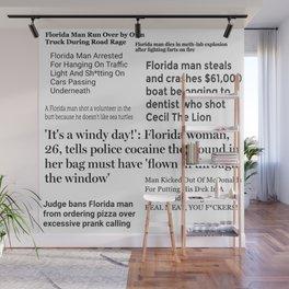Florida People Wall Mural