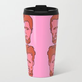 Where is my mind? Pink Travel Mug