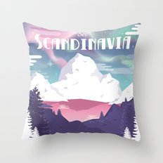See Scandinavia Throw Pillow