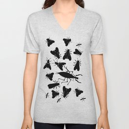 Insect seamless pattern Unisex V-Neck