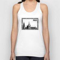 prague Tank Tops featuring Prague castle by siloto