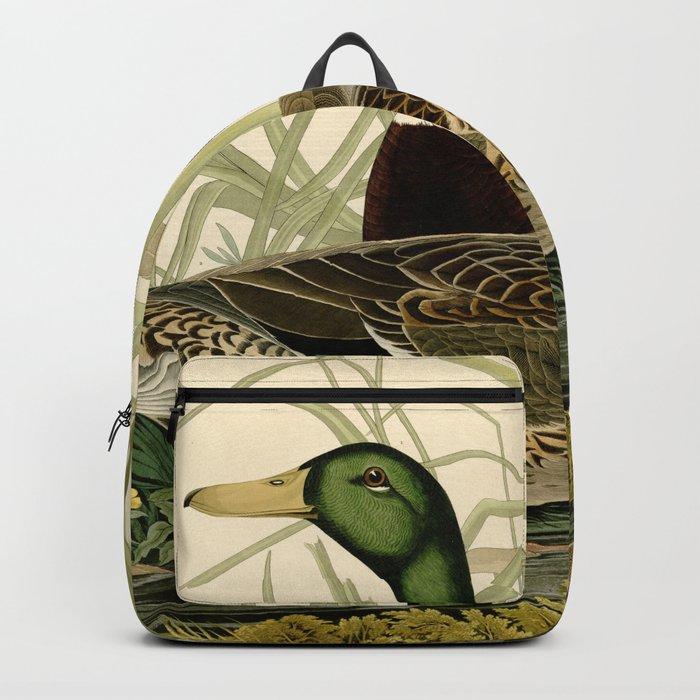 Mallard Ducks Rucksack
