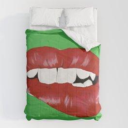 Pop Lips Comforters