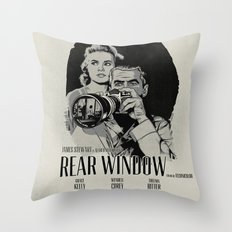 R. W. Throw Pillow