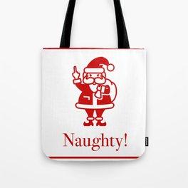Angry Santa Tote Bag