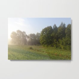 mixed forest Metal Print