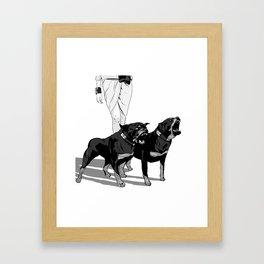 Fashion Rottweiler  Framed Art Print