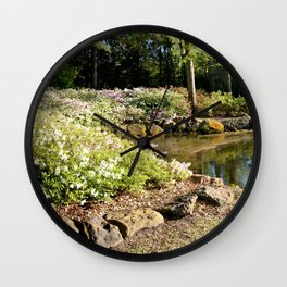 Muscogee (Creek) Nation - Honor Heights Park Azalea Festival, No.06 of 12 Wall Clock