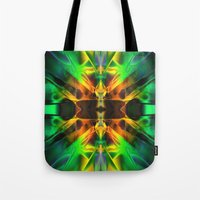 neon Tote Bags featuring Neon by Assiyam