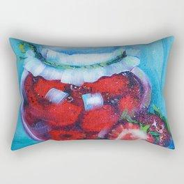 Jam jar Rectangular Pillow