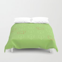 Birds! Spring! Duvet Cover
