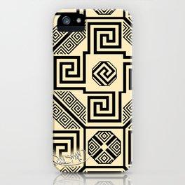 Kagome Fret Lattice. iPhone Case