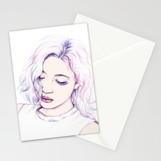Violet Stationery Cards