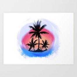 surfapimp island Art Print