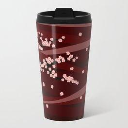 sakura - red version Travel Mug