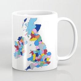 England, Ireland, Scotland & Wales Coffee Mug