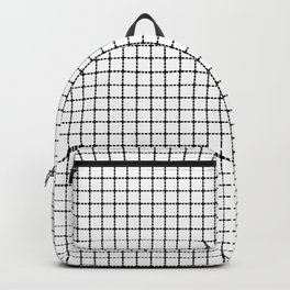 Dotted Grid Backpack