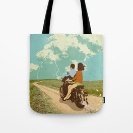 STORM CHASERS Tote Bag