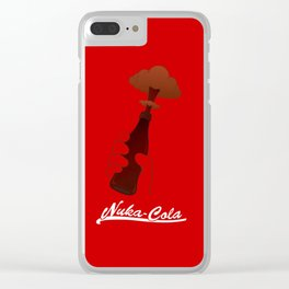 Nuka-Cola Clear iPhone Case