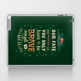 Would you change your fate? Laptop & iPad Skin