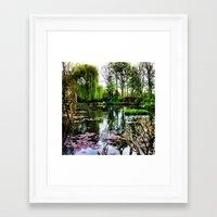 monet Framed Art Prints featuring Monet  by Fernando Innecchi