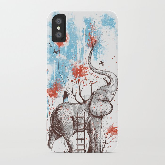 A Happy Place iPhone Case