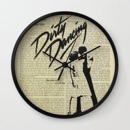 Dirty Dancing Wall Clock