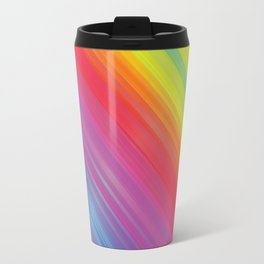 RAINBOW COLORS PATTERN VI Travel Mug
