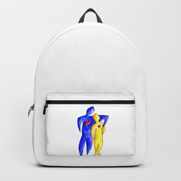 Keep Your Heart Open 1 by Kathy Morton Stanion Backpack