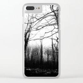 Desolate Clear iPhone Case