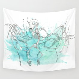 Bat Skeleton Wall Tapestry