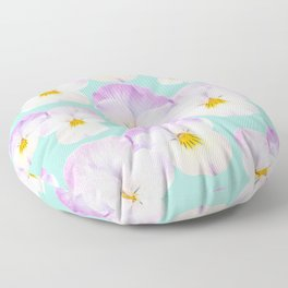 Pansies Dream #1 #floral #pattern #decor #art #society6 Floor Pillow
