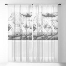 XXX - Nood Dood Sheer Curtain