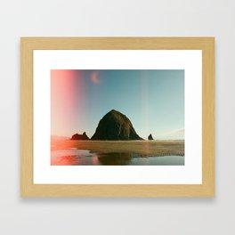 Canon Beach Framed Art Print