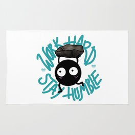 SOOT SPRITE - Work Hard, Stay Humble Rug