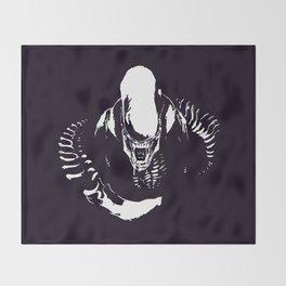 Aliens Throw Blanket